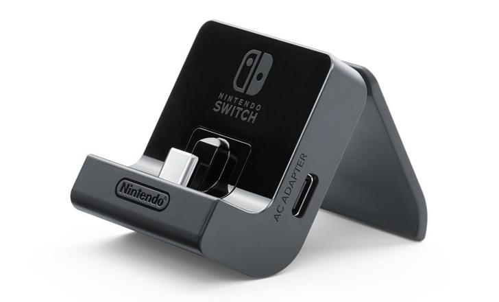 ニンテンドースイッチ用の純正充電スタンドが発売!充電しながらプレイも可能!