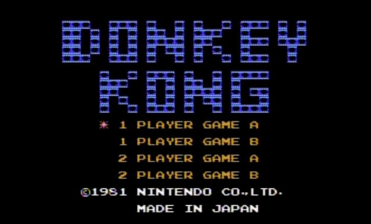 【Nintendo Switch Onlineファミコン】ドンキーコング【攻略サイト】
