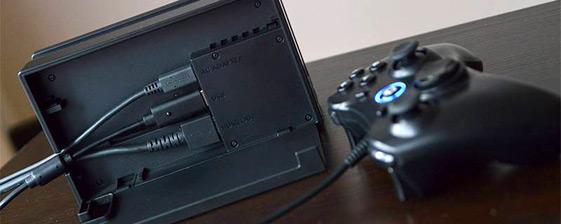 TVモードでじっくりプレイするなら有線軽快コントローラー